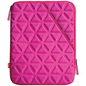 iLuv iSS2101PNK X-tra Padded Neoprene Sleeve for 10.1-Inch Samsung Galaxy Tab - Pink