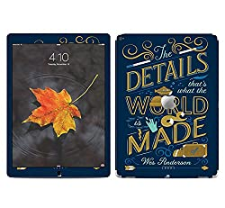 Theskinmantra The detailed World SKIN/STICKER/VINYL for Apple Ipad Pro Tablet 9 inch
