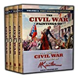 The Civil War Paintings of Mort Kunstler (4 Vol. Set) (1581829485) by Kunstler, Mort