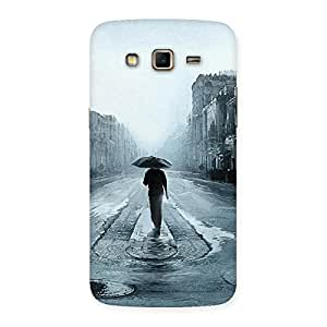 Stylish Beautiful Walking Rain Multicolor Back Case Cover for Samsung Galaxy Grand 2