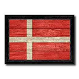 Denmark National Textured Flag Art Country Custom Picture Frame office Wall Home Decor Gift Ideas, 15\