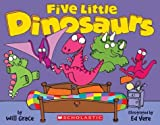 img - for Five Little Dinosaurs book / textbook / text book