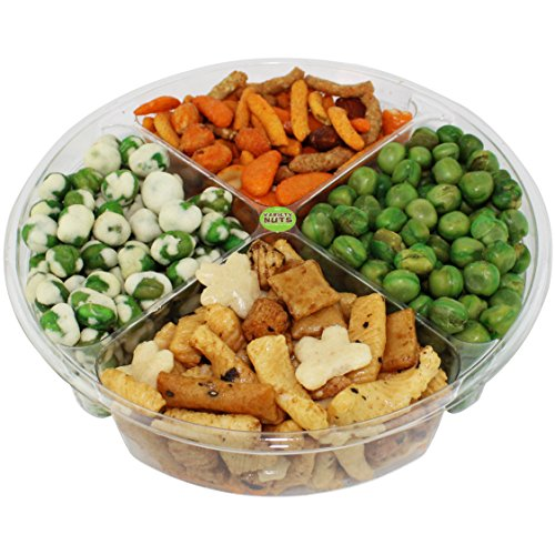 Premium Gourmet Nuts & Peas Assorted Gift Basket, Healthy Mix Fresh and Roasted. (Salted Dried Peas compare prices)