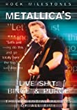 Rock Milestones: Metallica's Live Shit Binge And Purge - The Essential Albums of All Time [DVD] [2006]