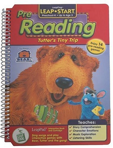 Pre-K & Kindergarten LeapPad Book: Tutter's Tiny Trip
