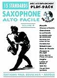 echange, troc Collectif - Partition : Saxo facile vol.4 + CD