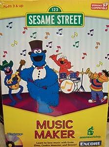 Amazon Com 123 Sesame Street Music Maker Software
