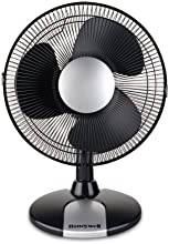 Honeywell HT-109E 9-inch Oscillating Table Fan - Black