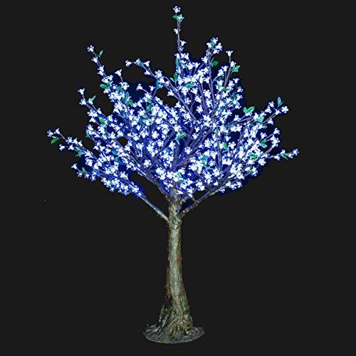 Bright Baum Led Cherry Artificial Tree, 5.4-Feet, Cool White