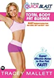 echange, troc Tracey Mallett - 6-minute Quickblast Method - Total Body Fat Burner [Import anglais]