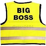 Kids Hi Viz Safety Vest High Visibility Top Hi Vis Baby Waistcoat Childrens Gift