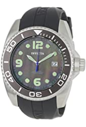 Invicta Men's 0468 Pro Diver Collection Automatic Charcoal Rubber Watch