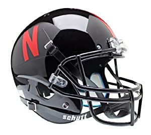 NCAA Nebraska Cornhuskers Replica XP Helmet - Alternate 1 (Black) by Schutt