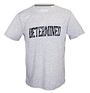 Robert Griffin III Adidas Grey Determined Ultimate Tee T-Shirt (Size Large)