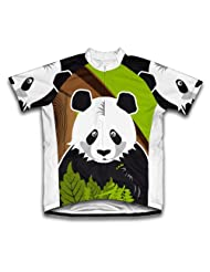 Hi Panda Short Sleeve Cycling Jersey for Women