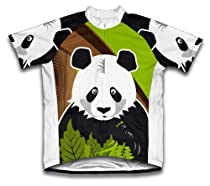 Hi Panda Short Sleeve Cycling Jersey for Women - Size M