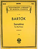 img - for Schrmer's Library of Musical Classics; Bartok Sonatina For the Piano book / textbook / text book