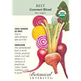 Beet Gourmet Blend Certified Organic Seed