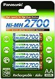 Panasonic High Capacity AA Mignon NI-MH 2700 Akku wiederaufladbar