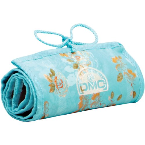 Check Out This DMC U1637 Stitchbow Floral Needlework Roll, Light Blue