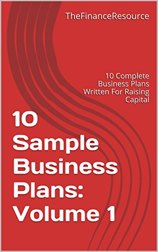 sample business plan to raise capital