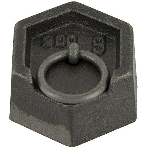 Poids hexagonaux en fonte - 200 g