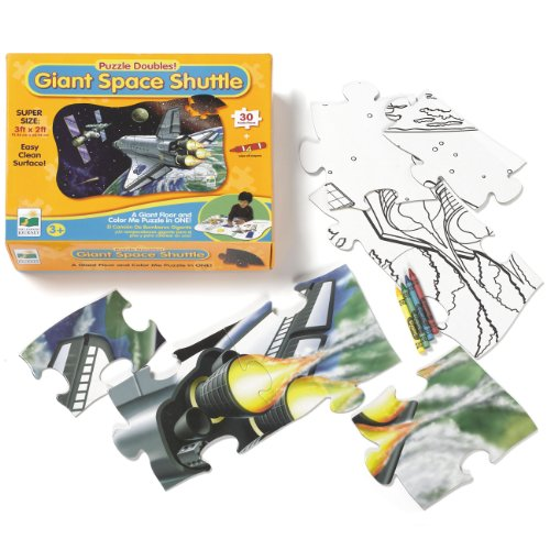 Cheap the learning journey int Giant Space Shuttle Floor Puzzle (B002E89ZI4)