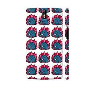 Colorpur Elephant Doodle Designer Mobile Phone Case Back Cover For OnePlus One | Artist: Woodle Doodle
