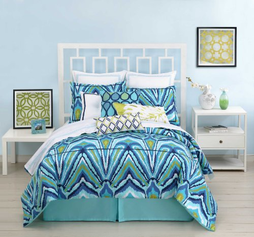 Peacock Print Bedding 2602 front