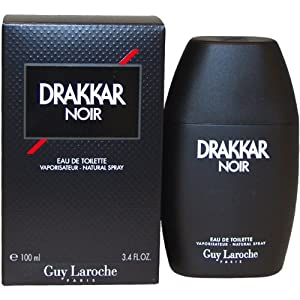 Drakkar Noir By Guy Laroche For Men. Eau De Toilette Spray 3.4 Ounces