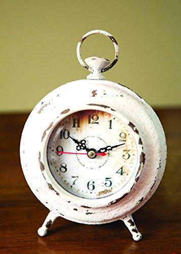 Pocket Watch Table Clock Cream Clocks