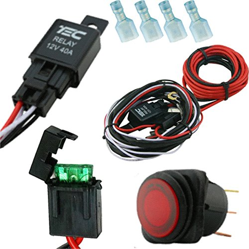 Wire Harness With Switch For Led Work Lights Offroad Led Light Bars on