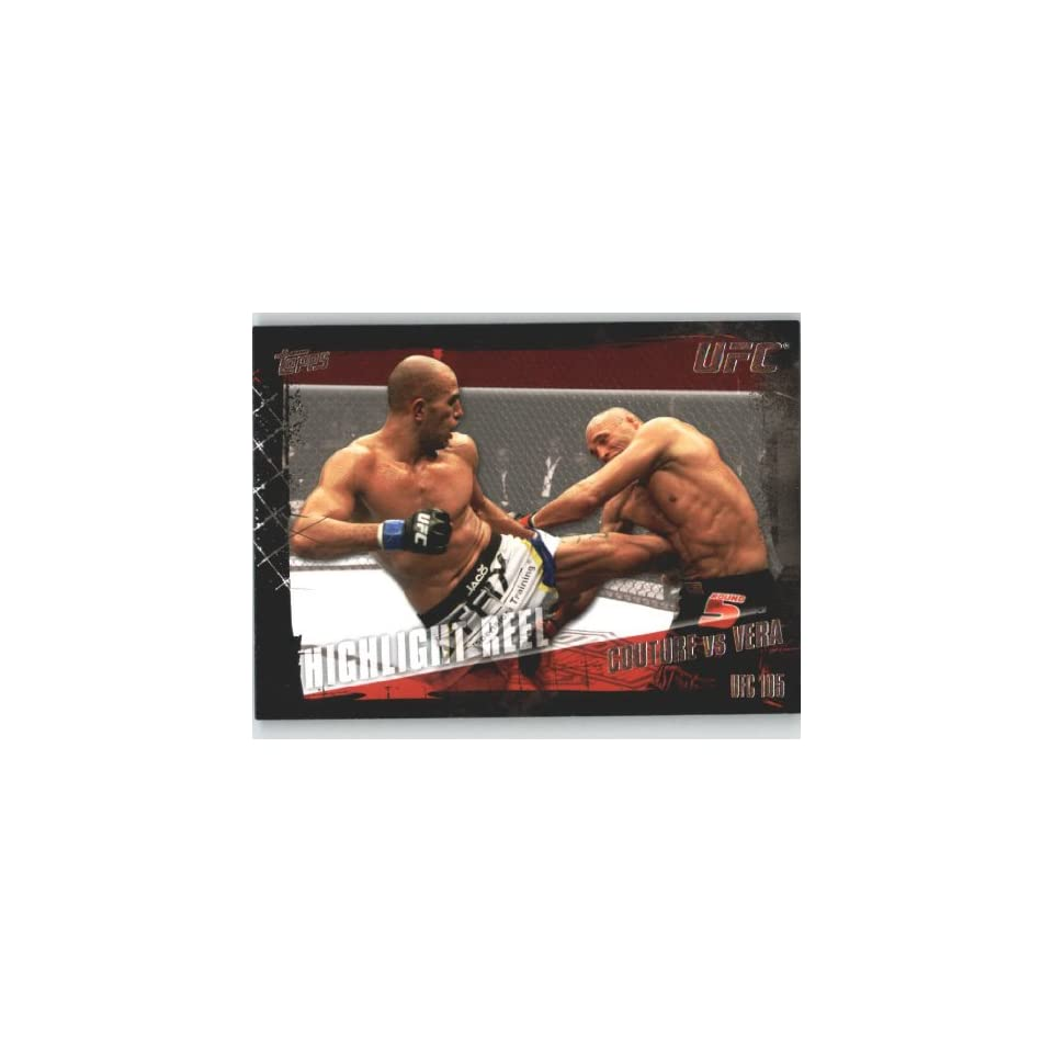 2010 Topps UFC Trading Card # 197 Randy Couture vs Brandon Vera