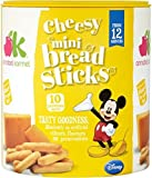 Annabel Karmel Disney Cheesy Mini Breadsticks 12mth+ (10 per pack - 50g) - Pack of 2