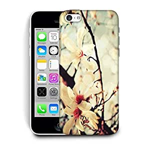 Snoogg Multiple Flowers In Garden Printed Protective Phone Back Case Cover For Apple Iphone 5C