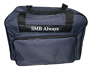 Sewing Machine Tote Carrying Bag in Blue, by SMB Always by SMB Always