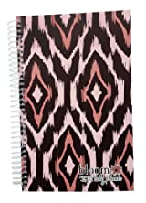 2013-2014 bloom Academic Year Daily Day Planner Fashion Organizer Agenda August 2013 Through July 2014 Purple Ikat