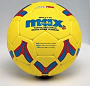 SportimeMax ProRubber Soccer Ball - Size 4 - Yellow