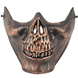 Skull Skeleton Airsoft Paintball Half Face Mask Protective