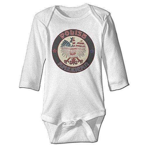 [Vintage American Patriot Eagle Cute Boy And Girl Infants Romper Jumpsuit 12 Months White] (Dances With Wolves Costumes Designer)