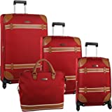 Anne Klein Luggage Vintage Edition 4 Piece Luggage Set