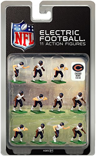 Chicago BearsWhite Uniform NFL Action Figure Set