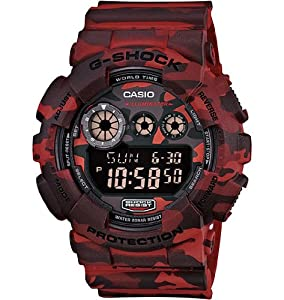 Casio G-Shock Woodland Camouflage GD120CM-4