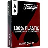 Fournier No. 2500 Poker Size Standard Index Playing Cards (Blue)
