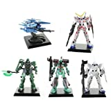 Gundam Unicorn UC2 Digital Grade – Set of 5 (2″ Figures)