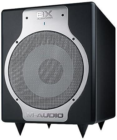 M-Audio BX Subwoofer | Caisson de Basses de Monitoring Actif 240W avec Membrane Conique 25,4 cm
