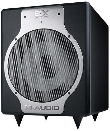 M-Audio-BX-Subwoofer-Hochwertiger-10-Zoll-Studio-Aktiv-Subwoofer-fr-kompromisslose-Bassperformance