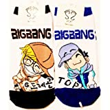 Big Bang G-Dragon & Top Kpop Sock ~ Sesock