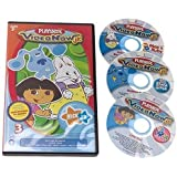 Videonow Jr. Personal Video Disc 3-Pack: Nick Jr. #1