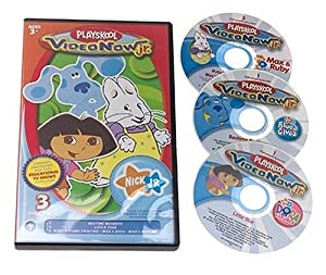 Videonow Jr. Personal Video Disc 3-Pack: Nick Jr. #1